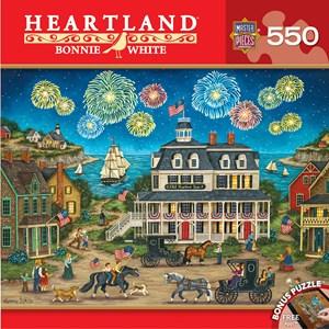 "MasterPieces (31680) - Bonnie White: ""Fireworks Finale"" - 550 piezas"