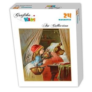 """Grafika Kids (00239) - Carl Offterdinger: """"Little Red Riding Hood"""" - 24 piezas"""