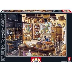 "Educa (16319) - Hiro Tanikawa: ""The Bakery"" - 3000 piezas"