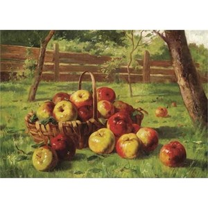 "Gold Puzzle (60768) - Karl Vikas: ""Apple Harvest"" - 500 piezas"