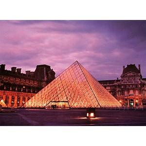 "Tomax Puzzles (50-012) - ""Louvre Pyramid, Paris"" - 500 piezas"