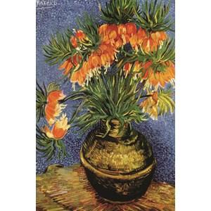 "Gold Puzzle (60911) - Vincent van Gogh: ""Fritillaires in a Copper Vase"" - 1000 piezas"