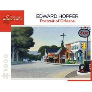 """Pomegranate (AA1002) - Edward Hopper: """"Portrait Of Orleans"""" - 1000 piezas"""