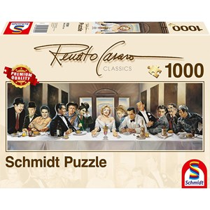 "Schmidt Spiele (57291) - Renato Casaro: ""Dinner"" - 1000 piezas"