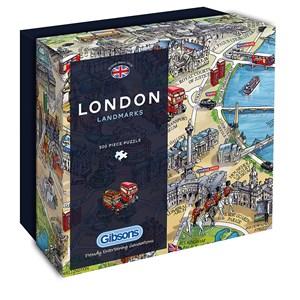 "Gibsons (G3402) - Maria Rabinsky: ""London Landmarks"" - 500 piezas"