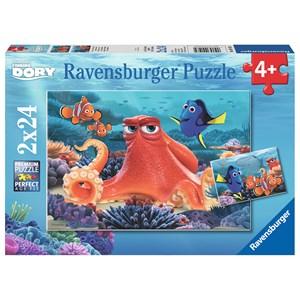 "Ravensburger (09103) - ""Finding Dory: Always Swimming"" - 24 piezas"