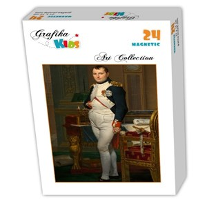 "Grafika Kids (00362) - Jacques-Louis David: ""The Emperor Napoleon in his study at the Tuileries, 1812"" - 24 piezas"