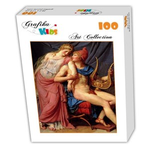 "Grafika Kids (00365) - Jacques-Louis David: ""The Loves of Paris and Helen, 1788"" - 100 piezas"
