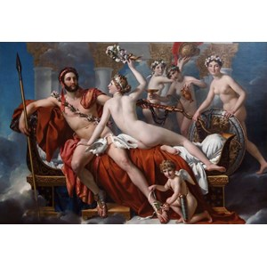 "Grafika Kids (00373) - Jacques-Louis David: ""Mars Being Disarmed by Venus, 1824"" - 12 piezas"