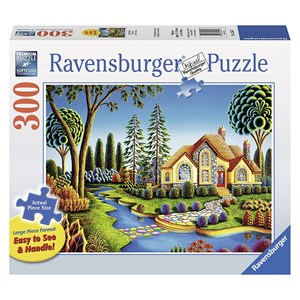 "Ravensburger (13567) - Andy Russell: ""Cottage Dream"" - 300 piezas"