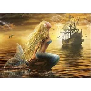"Gold Puzzle (61406) - ""Mermaid"" - 1000 piezas"