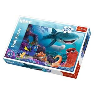"Trefl (16294) - ""Nemo & Dory"" - 100 piezas"