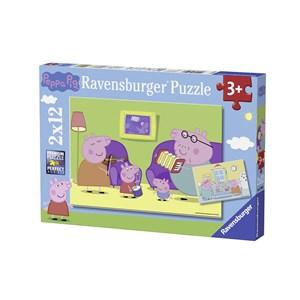 """Ravensburger (07596) - """"Peppa Pig"""" - 12 piezas"""