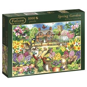 """Falcon (11106) - Claire Comerford: """"Spring Garden"""" - 1000 piezas"""