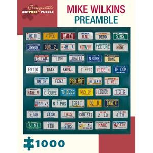 "Pomegranate (AA984) - Mike Wilkins: ""Preamble"" - 1000 piezas"