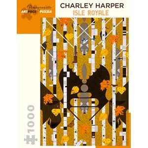 "Pomegranate (AA982) - Charley Harper: ""Isle Royale"" - 1000 piezas"