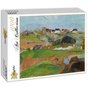 "Grafika (01588) - Paul Gauguin: ""Le Pouldu, 1890"" - 1000 piezas"