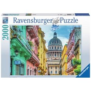 "Ravensburger (16618) - ""Colourful Cuba"" - 2000 piezas"