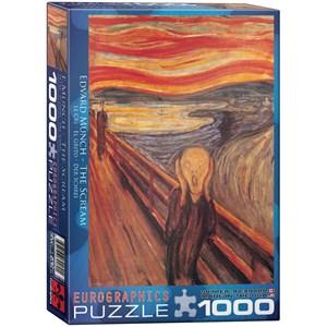 "Eurographics (6000-4489) - Edvard Munch: ""The Scream"" - 1000 piezas"