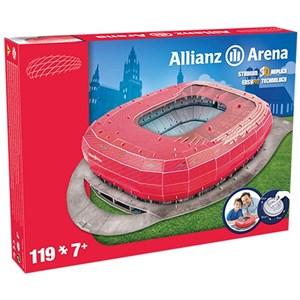 "Nanostad (Bayern) - ""Allianz Arena, Bayern"" - 119 piezas"