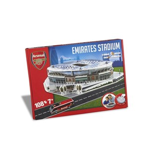 """Nanostad (Arsenal) - """"Emirates Stadium, Arsenal"""" - 108 piezas"""
