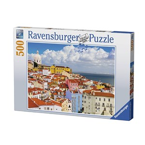 "Ravensburger (14757) - ""Lisbon, Portugal"" - 500 piezas"