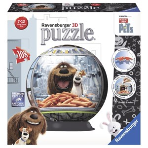 "Ravensburger (12216) - ""The Secret Life of Pets"" - 108 piezas"