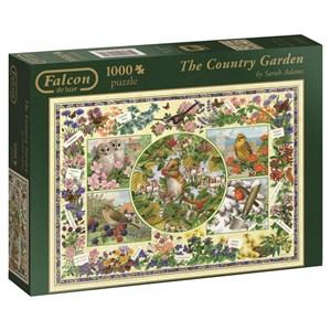 """Falcon (11131) - Sarah Adams: """"The Country Garden"""" - 1000 piezas"""