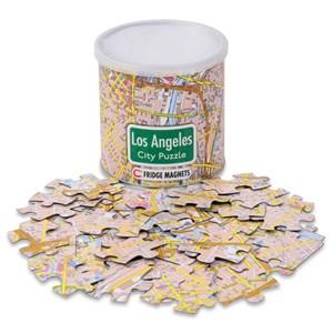 "Geo Toys (GEO 234) - ""City Magnetic Puzzle Los Angeles"" - 100 piezas"
