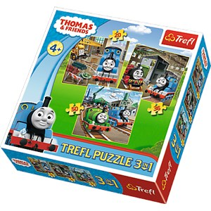 "Trefl (34821) - ""Thomas & Friends"" - 20 36 50 piezas"