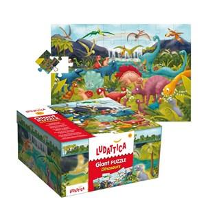 """Ludattica (51373) - """"Dinosaurs"""" - 48 piezas"""