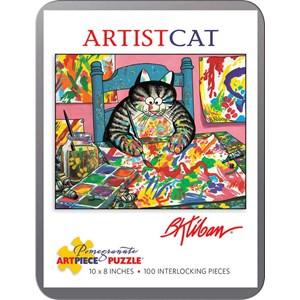"Pomegranate (AA813) - Bernard Kliban: ""ArtistCat"" - 100 piezas"