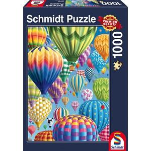 """Schmidt Spiele (58286) - """"Balloons"""" - 1000 piezas"""