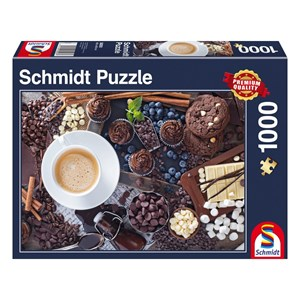"Schmidt Spiele (58293) - ""Sweet Break"" - 1000 piezas"