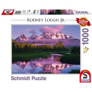 "Schmidt Spiele (59386) - Rodney Lough Jr.: ""Day Dreaming, The Grand Teton National Park, Wyoming"" - 1000 piezas"