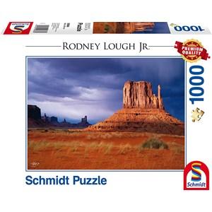 "Schmidt Spiele (59388) - Rodney Lough Jr.: ""Left Handed, Navajo Indian Tribal Reservation, Arizona"" - 1000 piezas"
