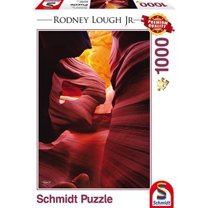 "Schmidt Spiele (59389) - Rodney Lough Jr.: ""Angels Among, Navajo Indian Tribal Reservation, Arizona"" - 1000 piezas"