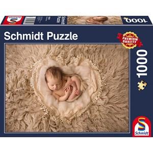 """Schmidt Spiele (58300) - """"Little Heart"""" - 1000 piezas"""