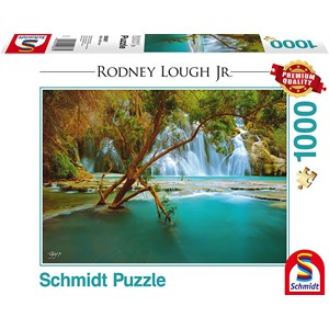 "Schmidt Spiele (59387) - Rodney Lough Jr.: ""Canyon Song, Havasupai Indian Reservation, Arizona"" - 1000 piezas"