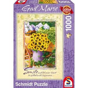 "Schmidt Spiele (59390) - Gail Marie: ""Smile"" - 1000 piezas"