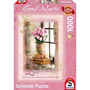 """Schmidt Spiele (59392) - Gail Marie: """"Love"""" - 1000 piezas"""