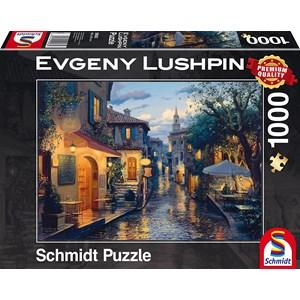 """Schmidt Spiele (59563) - Eugene Lushpin: """"Magical Evening Mood"""" - 1000 piezas"""