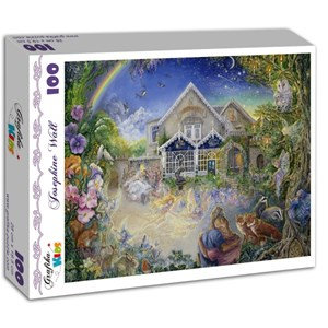 """Grafika Kids (01529) - Josephine Wall: """"Enchanted Manor"""" - 100 piezas"""
