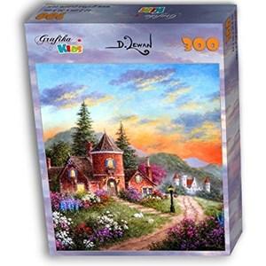 "Grafika Kids (01900) - Dennis Lewan: ""Castle Ridge Manor"" - 300 piezas"