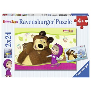"Ravensburger (09046) - ""Masha and the Bear"" - 24 piezas"