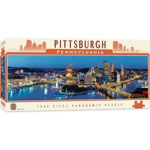 "MasterPieces (71589) - James Blakeway: ""Pittsburgh"" - 1000 piezas"