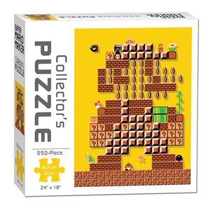 """USAopoly (PZ005-478) - """"Mario Maker #1 Puzzle"""" - 550 piezas"""