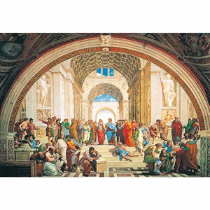 "Clementoni (31404) - Raphael: ""The School of Athens"" - 1000 piezas"