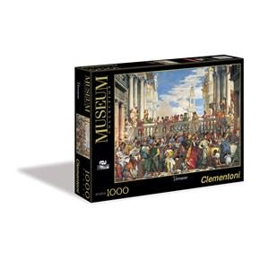 "Clementoni (31417) - Paolo Veronese: ""The Wedding at Cana"" - 1000 piezas"