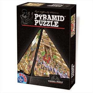 """D-Toys (65964-PC01) - """"Egypt, Cartoon"""" - 504 piezas"""
